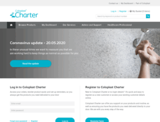 charterhealthcare.co.uk screenshot