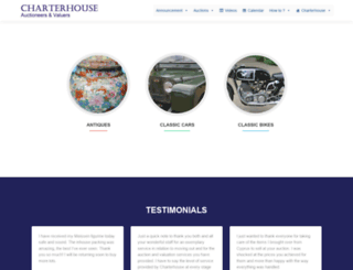 charterhouse-auction.com screenshot