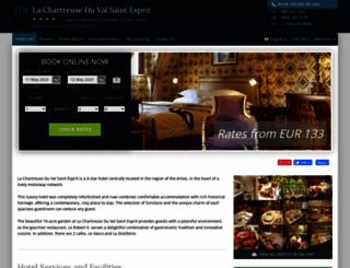 chartreuse-val-st-esprit.h-rez.com screenshot