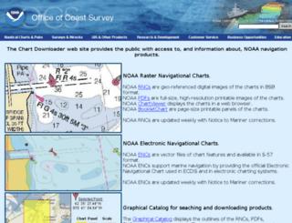 charts.noaa.gov screenshot