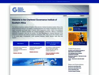 chartsec.co.za screenshot
