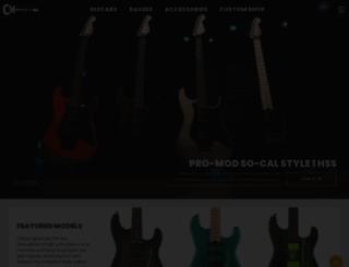 charvel.com screenshot