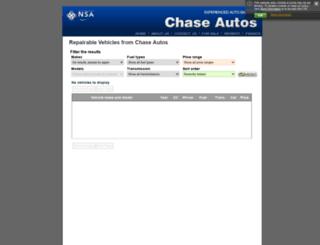 chase.dhsystems.co.uk screenshot