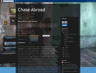 chaseabroad.blogspot.com screenshot