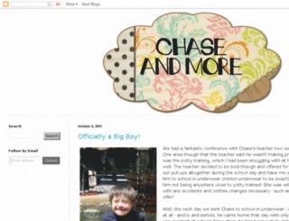 chaseandmore.blogspot.com screenshot