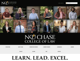 chaselaw.nku.edu screenshot