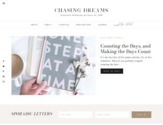 chasingdreams.net screenshot
