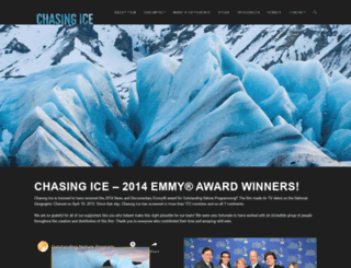 chasingice.com screenshot