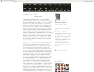 chasinglightningbugsstudio.blogspot.fr screenshot
