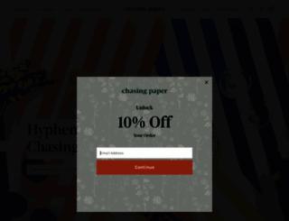 chasingpaper.com screenshot