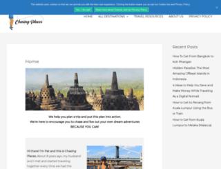chasingplaces.com screenshot
