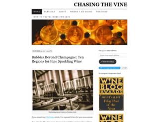 chasingthevine.com screenshot
