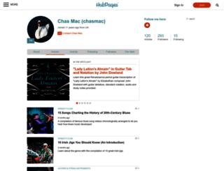 chasmac.hubpages.com screenshot
