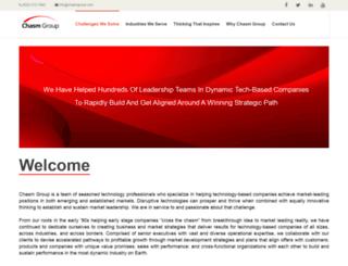 chasmgroup.com screenshot