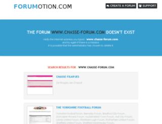 chasse-forum.com screenshot