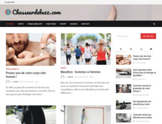 chasseurdebuzz.com screenshot