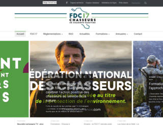 chasseurs17.com screenshot
