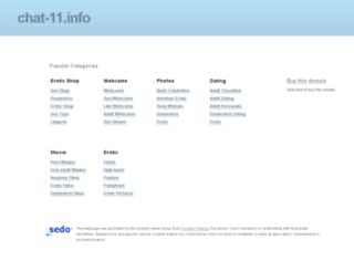chat-11.info screenshot