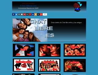 chat-libre.webcindario.com screenshot