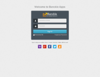 chat.banckle.com screenshot
