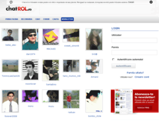 chat.rol.ro screenshot