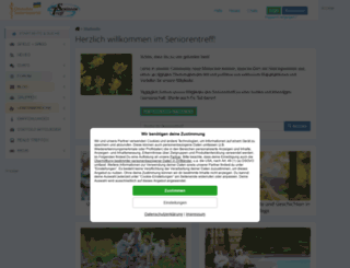chat.seniorentreff.de screenshot
