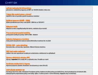 chat.sk screenshot