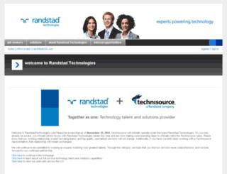 chat.technisource.com screenshot