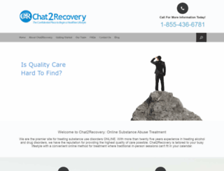 chat2recovery.com screenshot