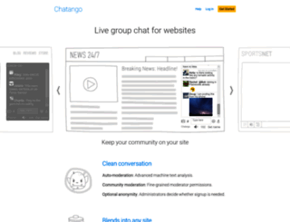 chatango.com screenshot