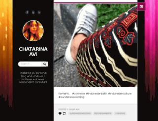 chatarinaavi.com screenshot