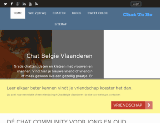 chatbelgie.vlaanderen screenshot
