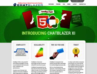 chatblazer.com screenshot