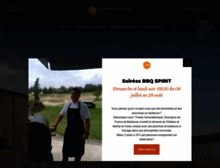 chateau-mons.com screenshot