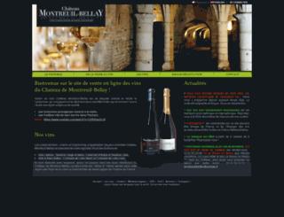 chateau-montreuil-bellay.fr screenshot