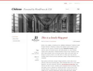 chateau-theme.com screenshot