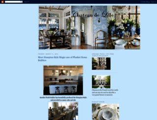 chateaudelille.blogspot.com screenshot