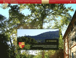 chateaudesaintmartin.com screenshot