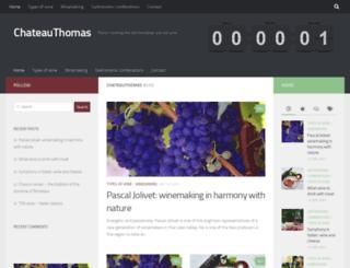 chateauthomas.com screenshot