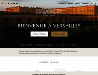 chateauversailles.fr screenshot