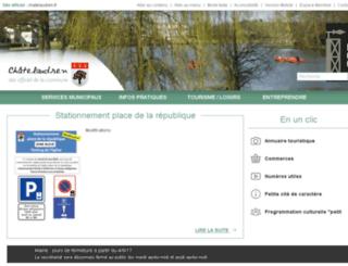 chatelaudren.reseaudescommunes.fr screenshot