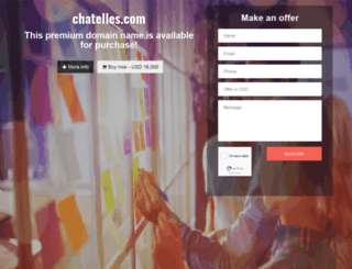 chatelles.com screenshot