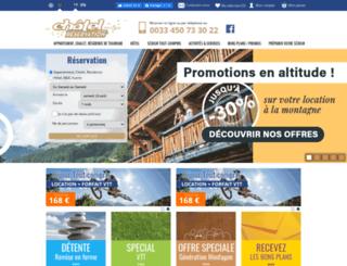chatelreservation.com screenshot