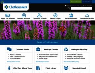 chatham-kent.ca screenshot