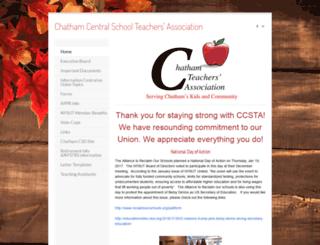 chathamteachers.com screenshot