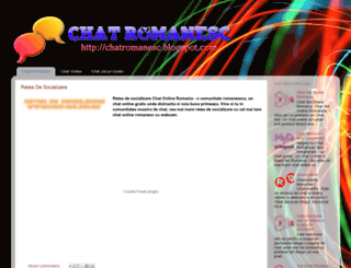chatromanesc.blogspot.com screenshot