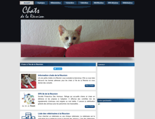 chats-reunion.fr screenshot