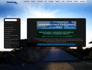 chattanooga.gov screenshot