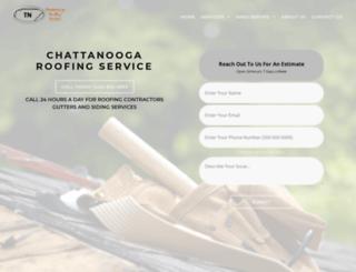 chattanooga.roofingrepair-service.com screenshot