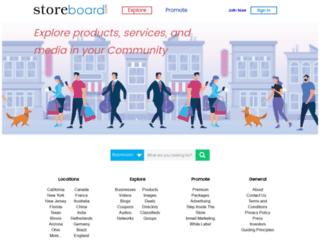 chattanooga.storeboard.com screenshot